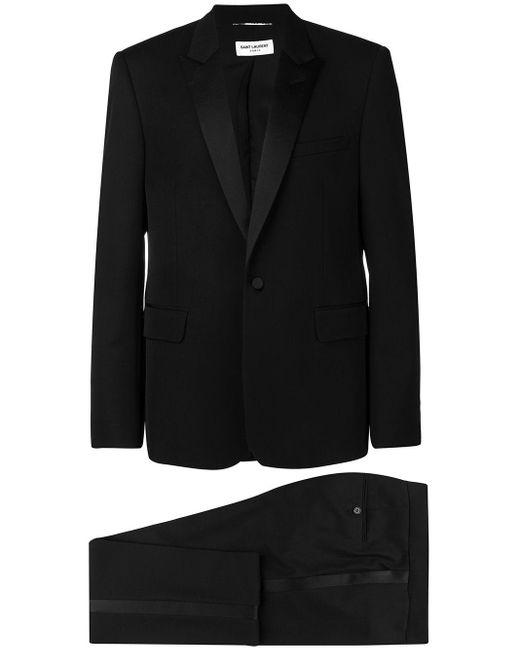 メンズ Saint Laurent タキシードスーツ Black