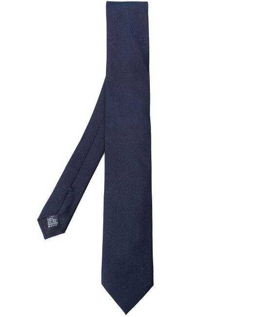 メンズ Dolce & Gabbana シルクネクタイ Blue