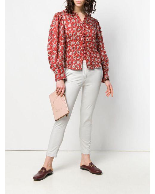 Dondup Pantalon skinny classique femme de coloris gris