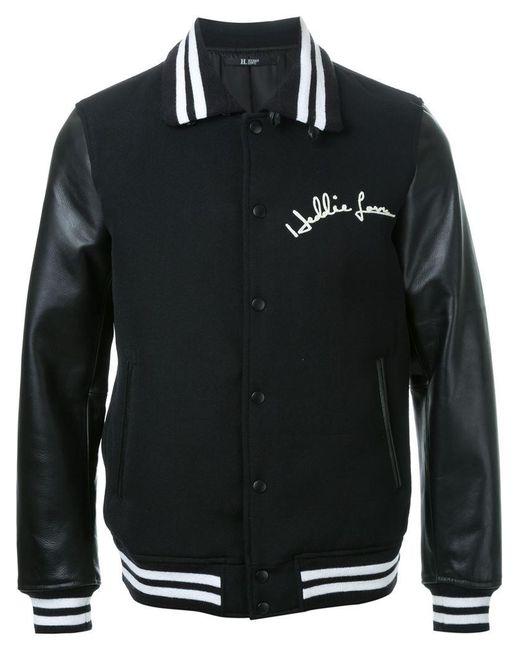 Hl Heddie Lovu - Black 'stadium' Varsity Sport Jacket for Men - Lyst