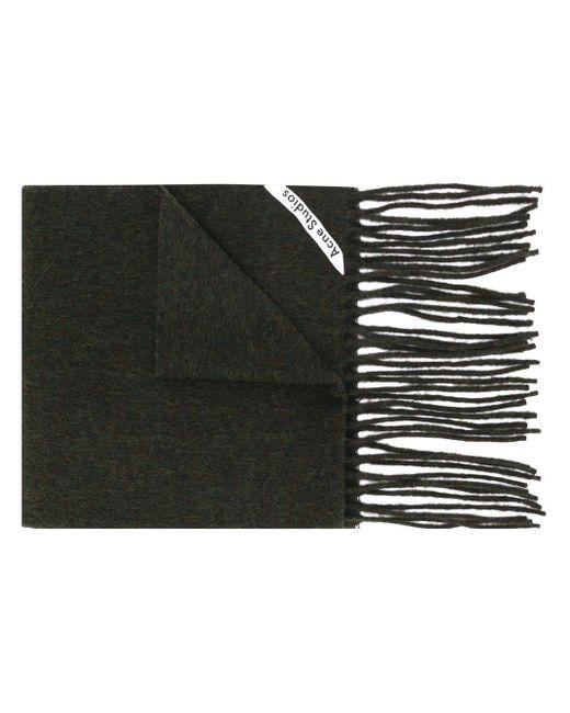 Acne Canada Skinny スカーフ Black