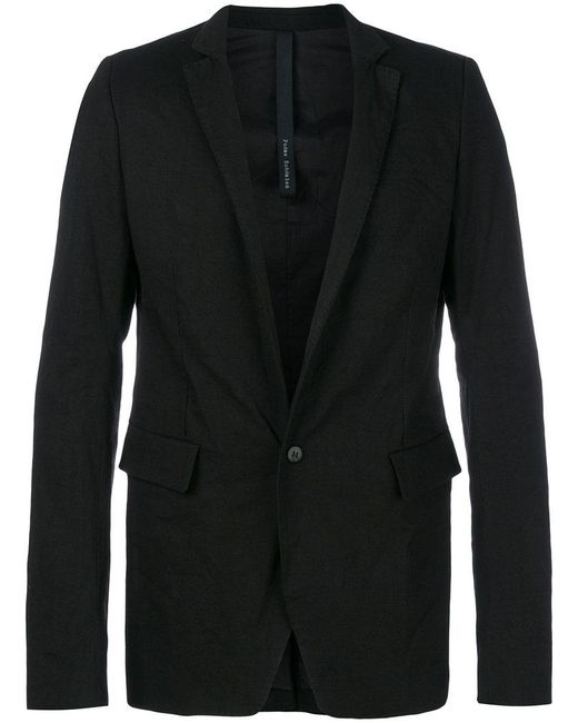 Poeme Bohemien - Black Flap Pocket Jacket for Men - Lyst