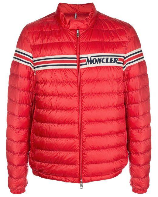 メンズ Moncler パデッドジャケット Red