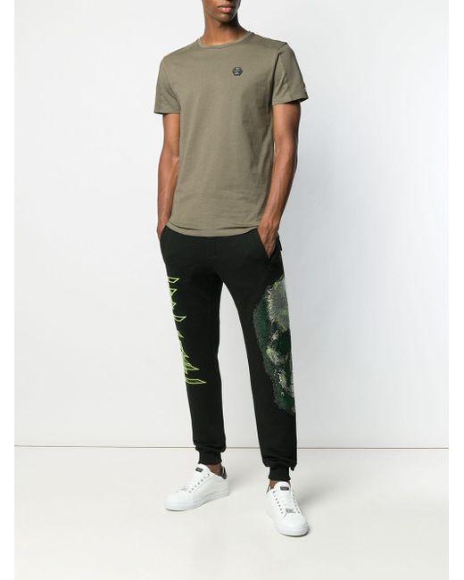 Pantalon de jogging à motif tête de mort Philipp Plein pour homme en coloris Black
