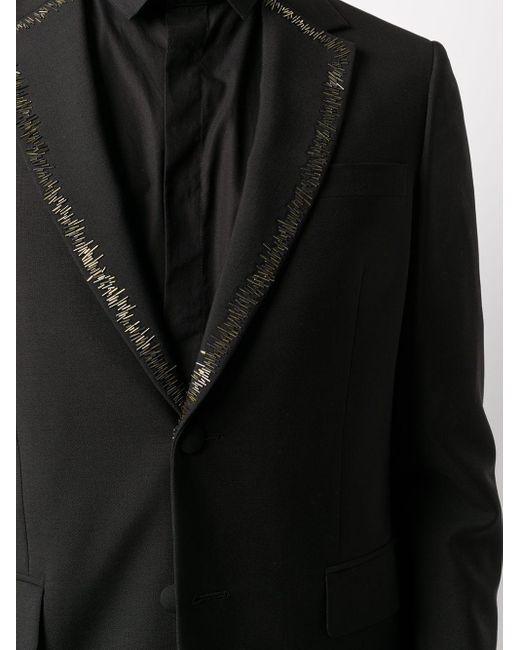 Декорированный Пиджак Roberto Cavalli для него, цвет: Black