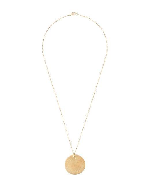 Elhanati String ネックレス 18kゴールド Metallic