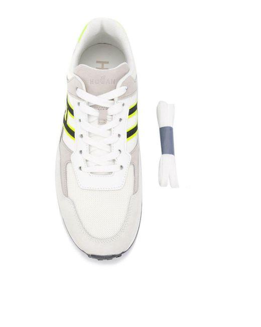 Кроссовки H383 Hogan для него, цвет: White