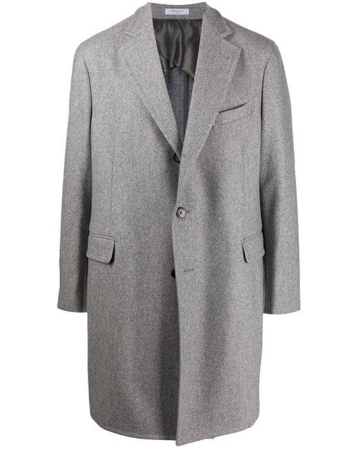 メンズ Boglioli シングルコート Gray