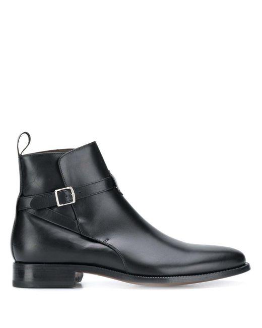 Ботинки С Пряжкой Scarosso для него, цвет: Black