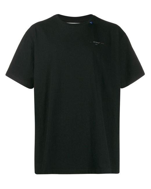 T-shirt à logo Off-White c/o Virgil Abloh pour homme en coloris Black