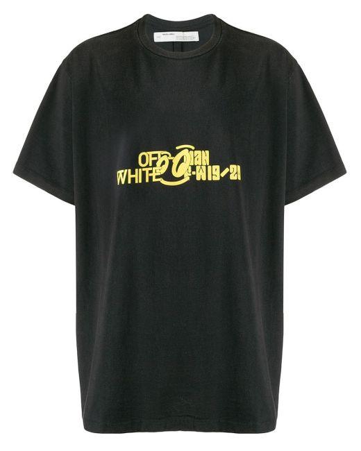 T-shirt Halftone Off-White c/o Virgil Abloh pour homme en coloris Black
