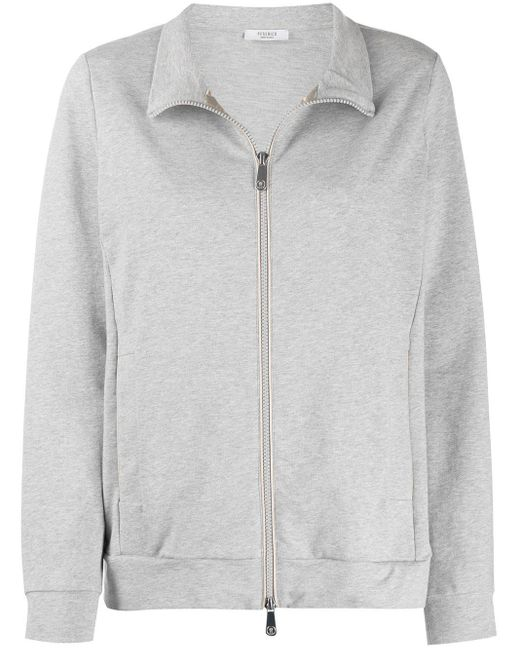 Peserico ジップ スウェットシャツ Gray