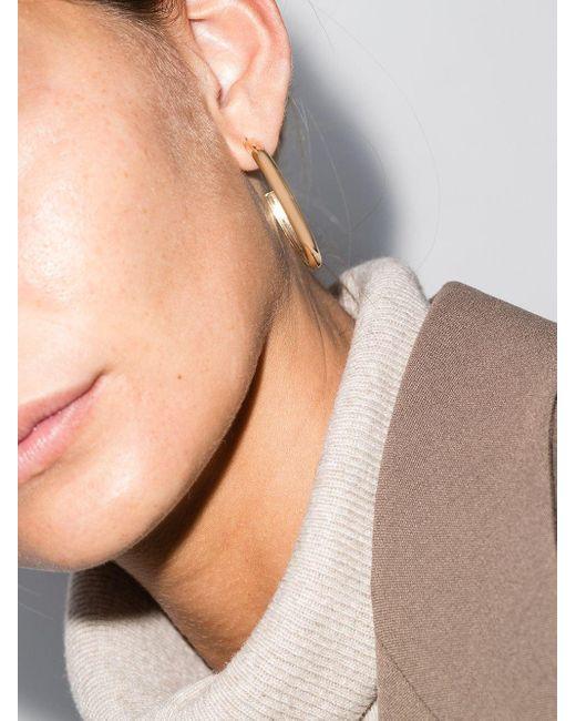 Золотые Серьги-кольца Zoe Chicco, цвет: Multicolor