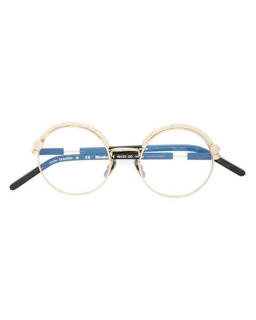 Kuboraum ラウンド眼鏡フレーム Multicolor