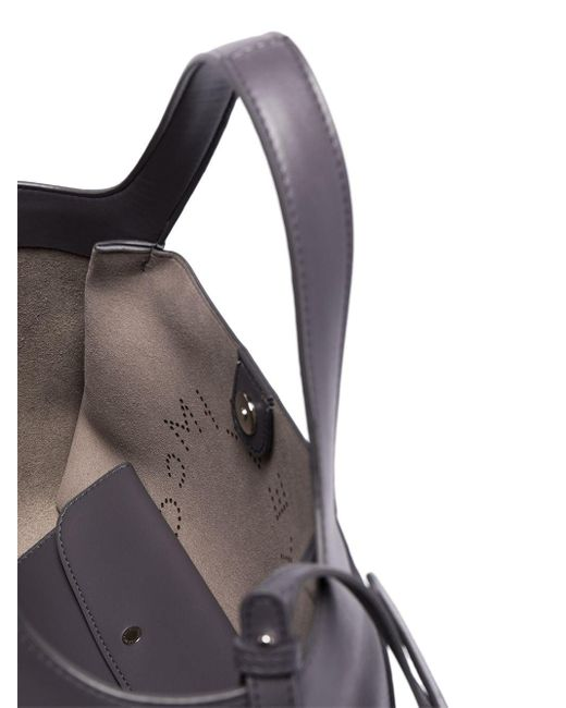 Сумка Через Плечо С Перфорированным Логотипом Stella McCartney, цвет: Gray
