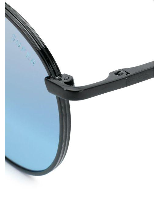 58c497ab0e ... Retrosuperfuture - Black Europa Sunglasses - Lyst