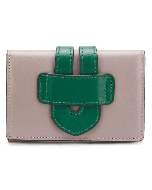 Tila March Two-tone Wallet Green