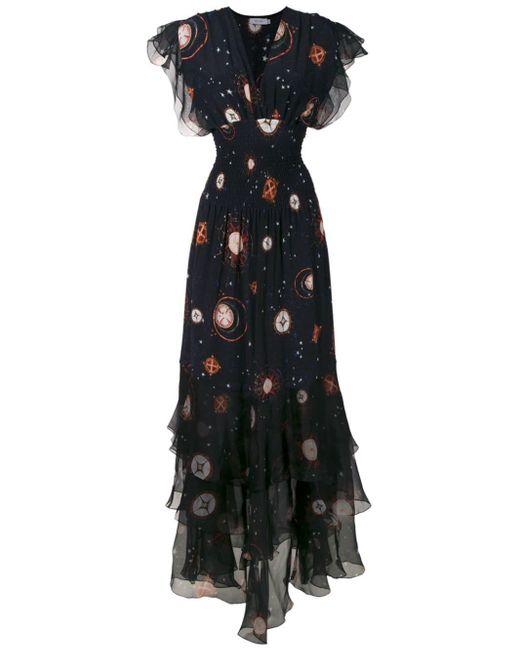 Vestito lungo Pri di Isolda in Black