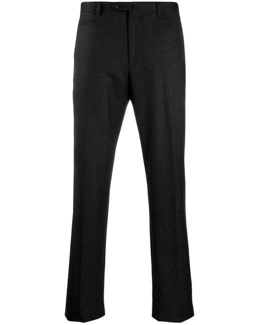 メンズ Corneliani テーラードパンツ Black