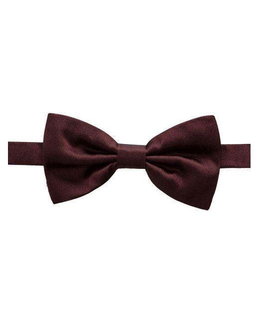 メンズ Dolce & Gabbana ベルベット 蝶ネクタイ Red