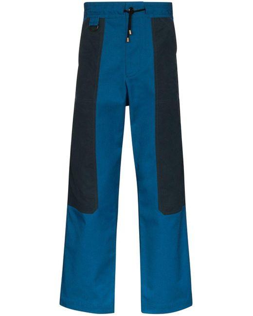 メンズ Nicholas Daley パネル パンツ Blue