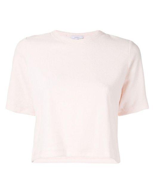 Venroy クロップド Tシャツ Multicolor