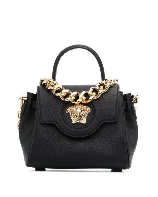 Сумка-тоут La Medusa С Верхней Ручкой Versace, цвет: Black