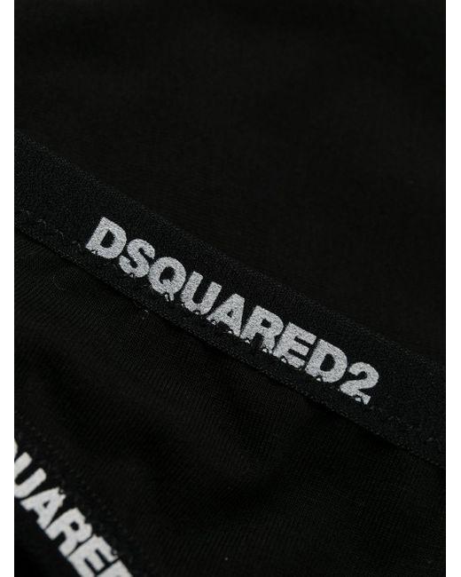 DSquared² ロゴ ショーツ Black