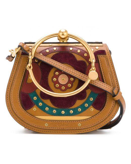 Chloé | Brown Nile Shoulder Bag | Lyst