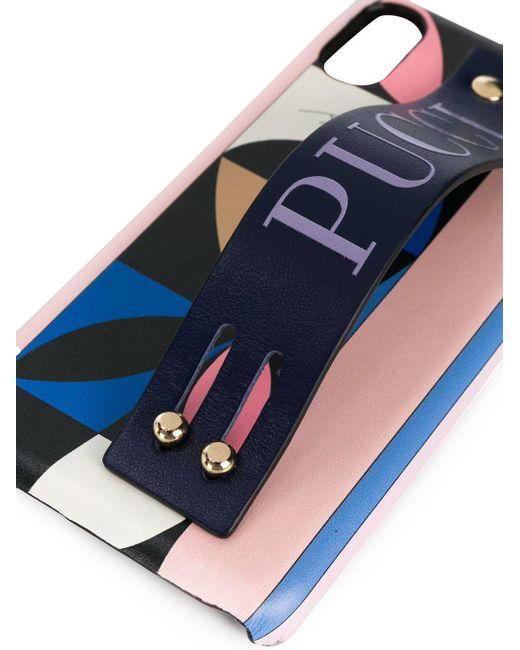Чехол Для Телефона С Принтом Emilio Pucci, цвет: Blue