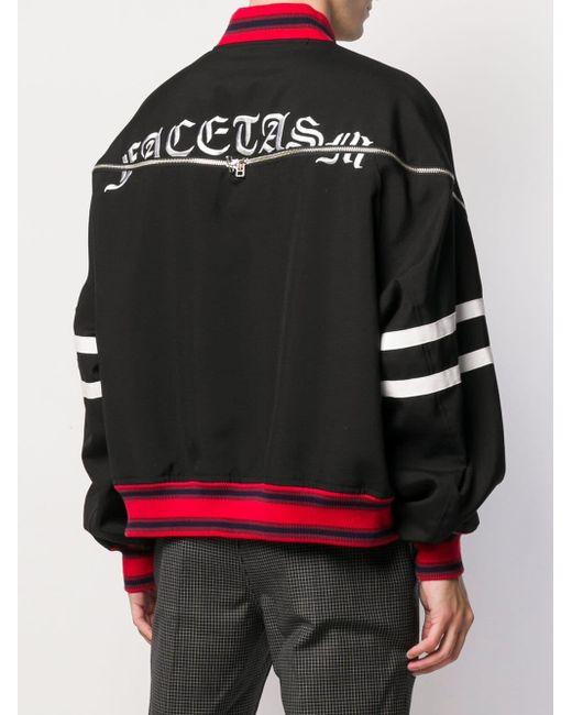 メンズ Facetasm スポーツジャケット Black