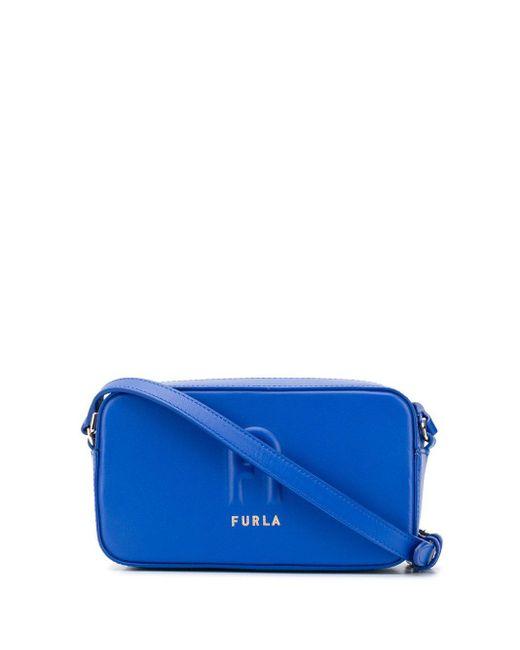 Furla Sleek カメラバッグ Blue