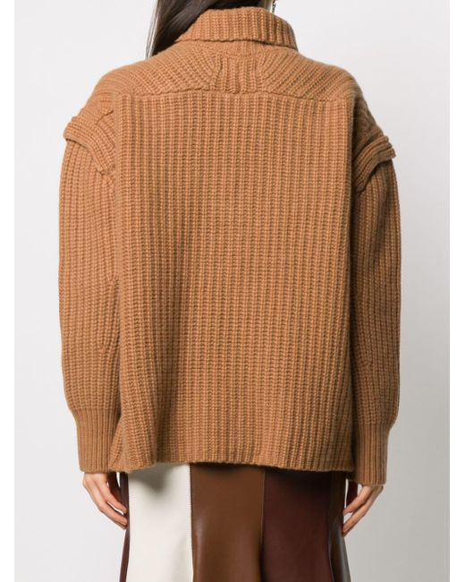 Loulou Studio リブニット セーター Multicolor