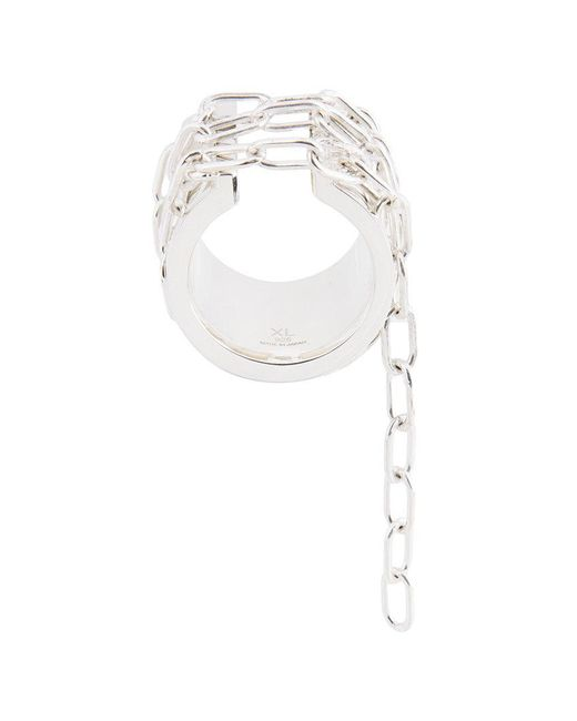 Ambush - Metallic Chain Ring - Lyst