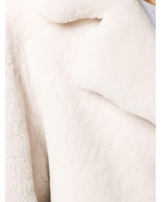 Abrigo Curly texturizado Meteo by Yves Salomon de color Multicolor