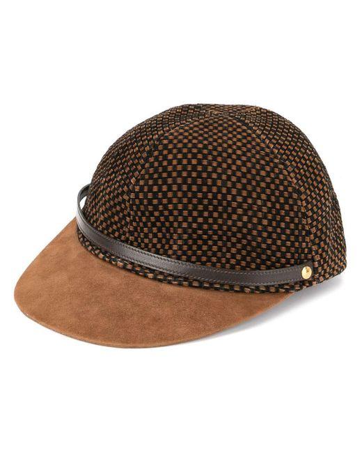 Hermès Motsch キャップ Brown