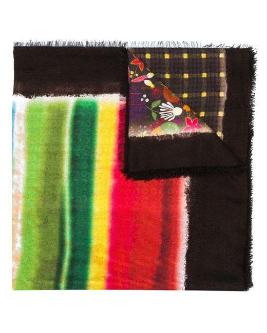 メンズ Altea マルチプリント スカーフ Multicolor