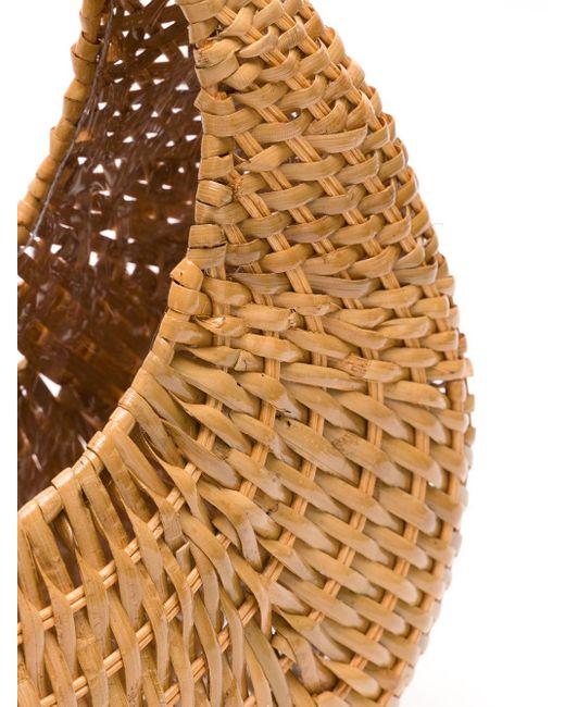 Соломенный Клатч Serpui, цвет: Multicolor
