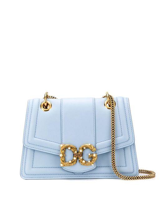 Dolce & Gabbana Dg Amore ショルダーバッグ Blue