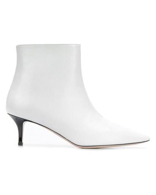 af83b3259c9 Lyst - Marc Ellis Ankle Boots in White - Save 10%