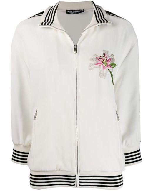 Dolce & Gabbana ロゴ ボンバージャケット White