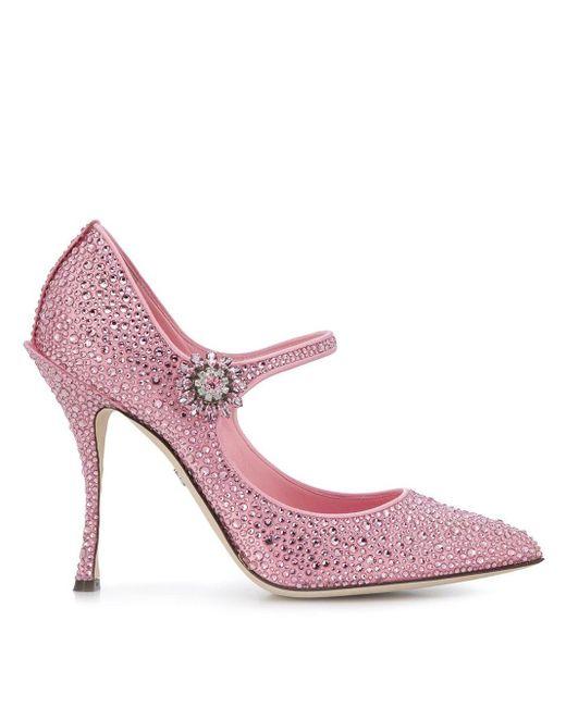 Dolce & Gabbana Lori メリージェーン パンプス Pink
