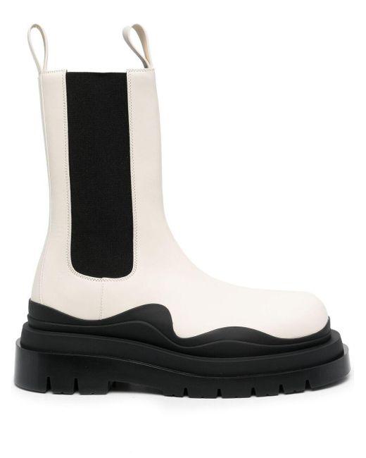 Ботинки Lug Bottega Veneta для него, цвет: White