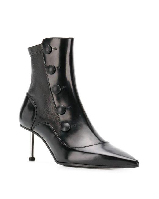 Alexander McQueen Victorian ブーツ Black