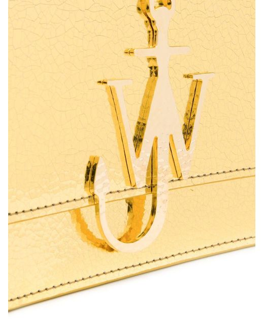 J.W. Anderson ロゴ ショルダーバッグ Metallic