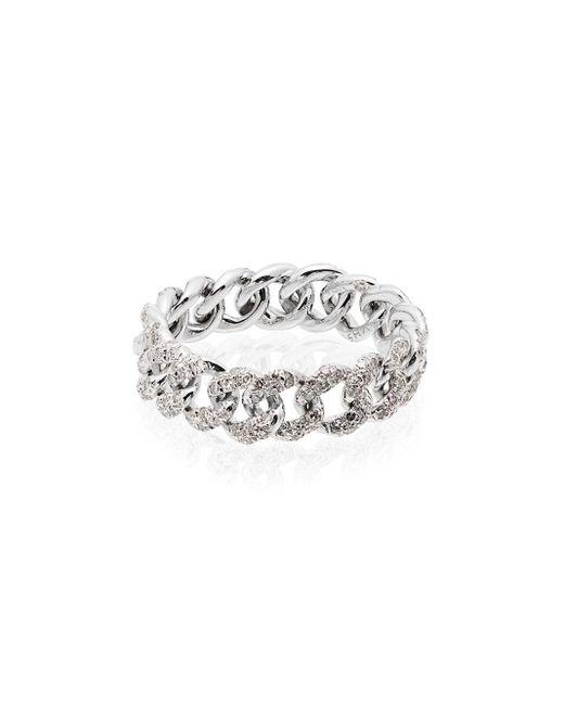 SHAY ダイヤモンドリング 18kホワイトゴールド Metallic