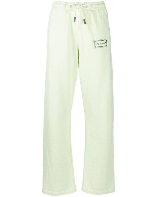 Спортивные Брюки С Логотипом Off-White c/o Virgil Abloh, цвет: Green
