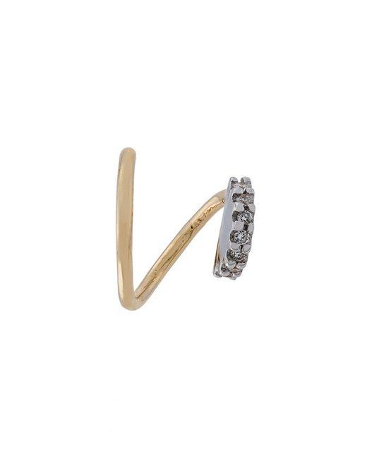 Maria Black - Metallic Lila Blanc Diamond Earring (right) - Lyst