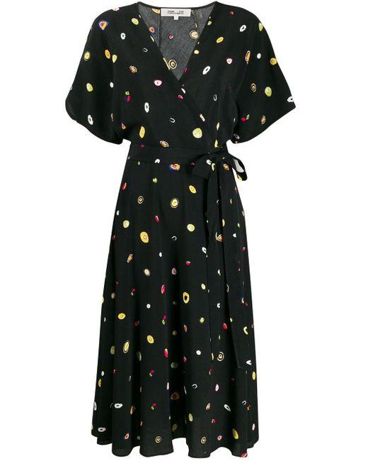 Diane von Furstenberg Agate ドレス Black