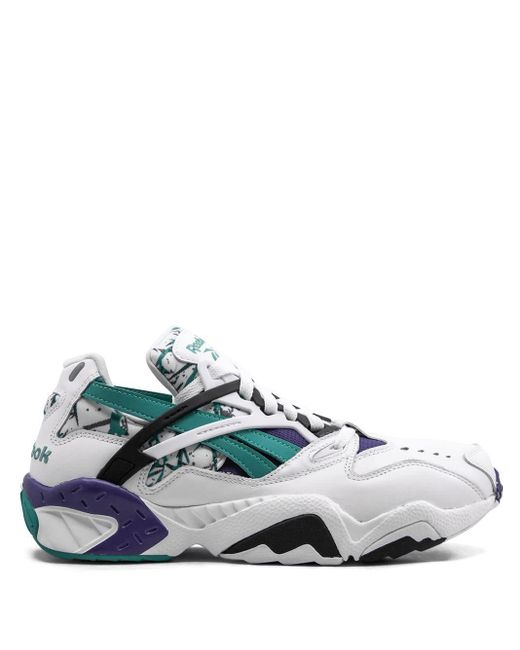 Reebok White Graphlite Pro Sneakers for men